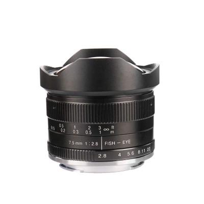 7,5mm f/2.8 x Canon EOS M