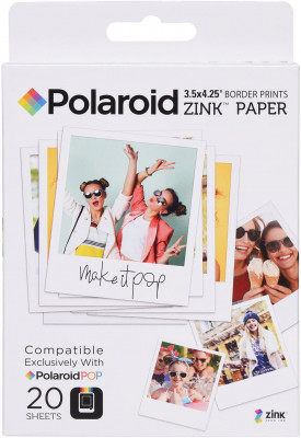 POLAROID CARTA Zink POP 3,5X4,25 (20 pz)