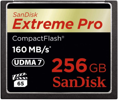 Compact Flash Extreme Pro 256GB