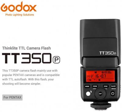 TT350P Camera Flash Speedlite TTL per Pentax