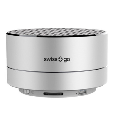 SWISS-GO BT-001 CLIO SPEAKER BLUETOOTH SILVER