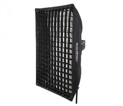SOFT BOX 60X60 CON ANELLO (BOWENS) CON GRIGLIA