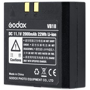GODOX BATTERIA LI-ION VB-18 PER FLASH VING V860II