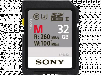 SDHC 32GB M UHS-II U3 260MBS/100MBS CL.10