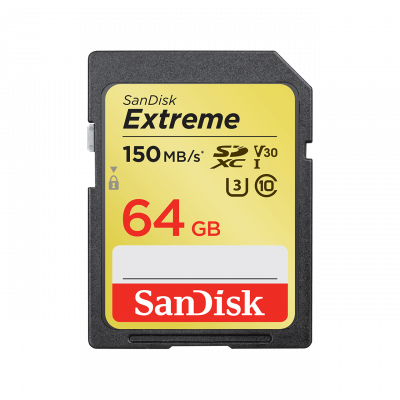 Secure Digital Extreme 64GB XC 150MB/s619659137175