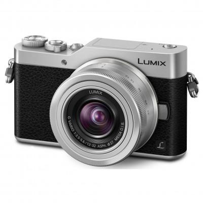 LUMIX GX80 SILVER 12-32 + 35-100