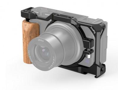 Cage per Sony ZV1 con Impugnatura in Legno