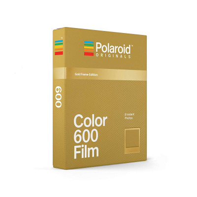 POLAROID COLOR FILM 600 GOLD EDITION