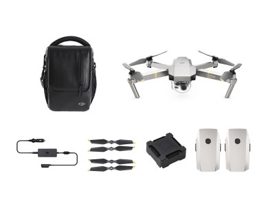 DJI MAVIC PRO FLY MORE COMBO, Platinum