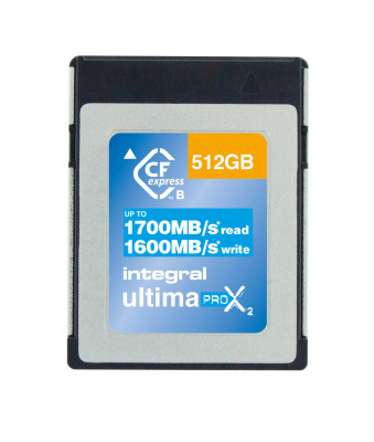 CF EXPRESS 512 GB 1700/1600MBs