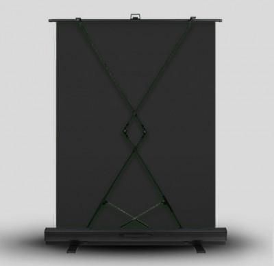 Fondale Autoportante di stoffa 2x1.80m Nero