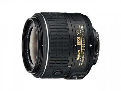 18-55mm f/3.5-5.6 G AF-S DX black VR II NIKKOR