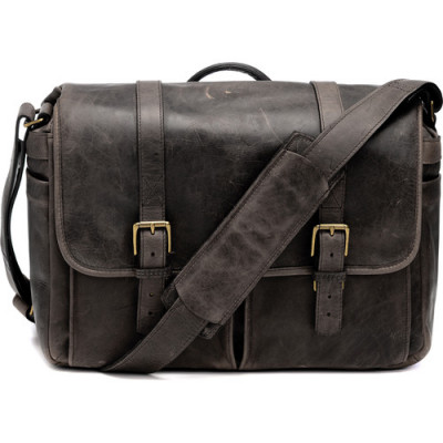 BRIXTON BAG DARK TRUFFLE LEATHER