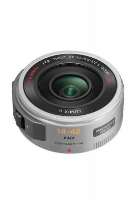 LUMIX G X VARIO PZ 14-42mm f/3.5-5.6 (ASPH) SILVER