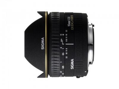 15mm f/2.8 EX DG CANON