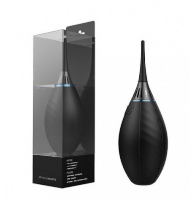 Blower con filtro e 2 ugelli per pulizia polvere – nera