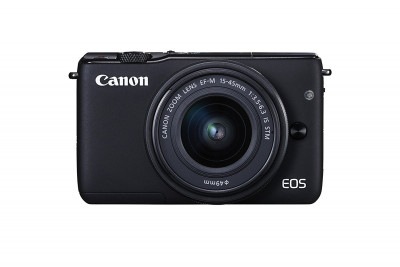 EOS M10 BLACK + EF-M 15-45mm (Gift Card euro 30,00)