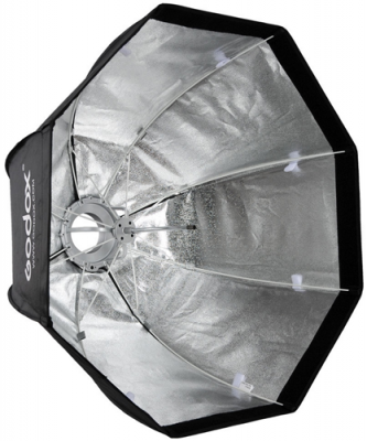SOFT BOX RIPIEGABILE 80 CM CON ANELLO BOWENS