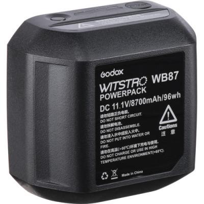 Batteria Ricaricabile WB87 per Flash AD600