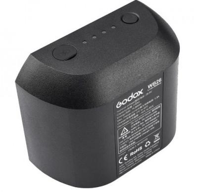 WB26 Batteria Ricaricabile agli Ioni di Litio per Flash AD600Pro