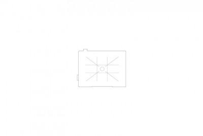 Vetrino di messa a fuoco quadrettato Matte-Spot LL-80