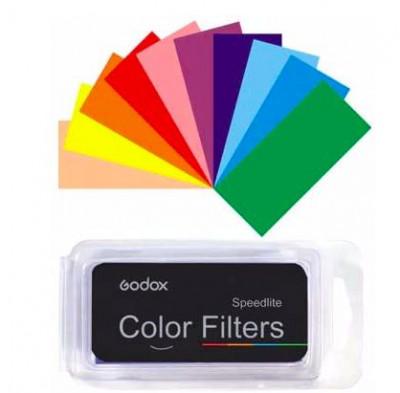 CF-07 Kit Filtri Colorati per Flash Speedlite