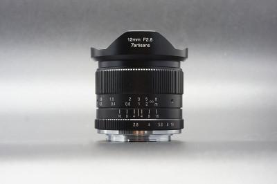 7ARTISANS 12mm f/2.8 x Canon EOS M