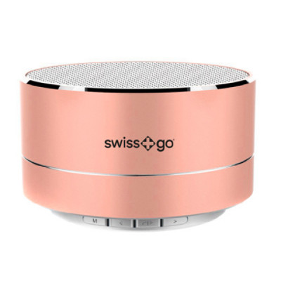 SWISS-GO BT-001 CLIO SPEAKER BLUETOOTH PINK