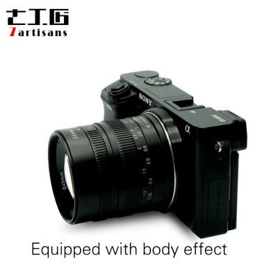 7ARTISANS 55mm f/1.4 x Fuji BLACK