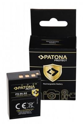PROTECT Batteria Olympus BLS5 E-P3 E-PL2 PEN E-PL3 E-PM1