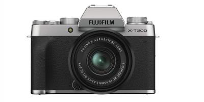 X-T200 SILVER KIT XC15-45mm