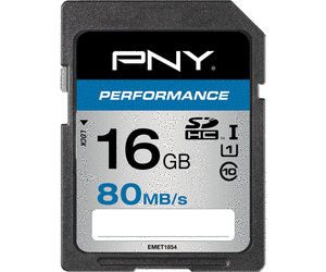 16GB SDHC/SDXC Performance Class 10 UHS-I U1