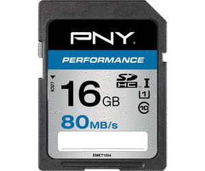 PNY SD16GPER80-EF SDHC Scheda di memoria SD