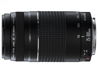 EF 75-300mm f/4.0-5.6 III