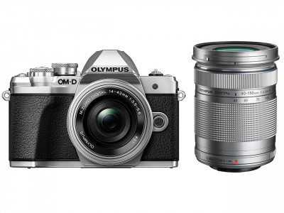 E-M10 III + ED 14-42mm R II + EZ-M 40-150mm R SILVER(40-150 BLACK)