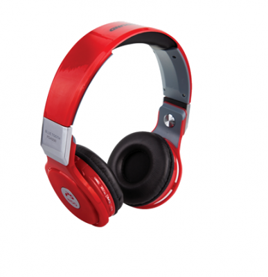 SWISS-GO PS400B CUFFIA PRO SOUND BLUETOOTH RED