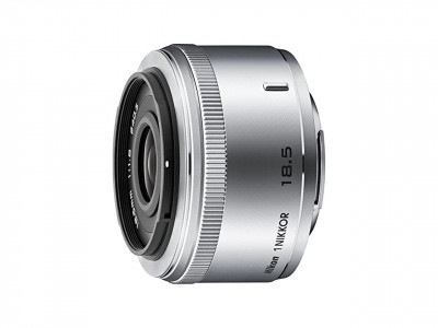 1 NIKKOR 18.5mm f/1.8 Silver