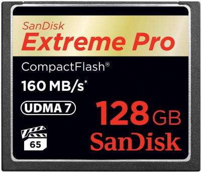 Compact Flash Extreme Pro 128GB