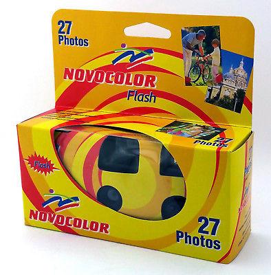 Fotocamera usa e getta con flash, 27 esposizioni con flash