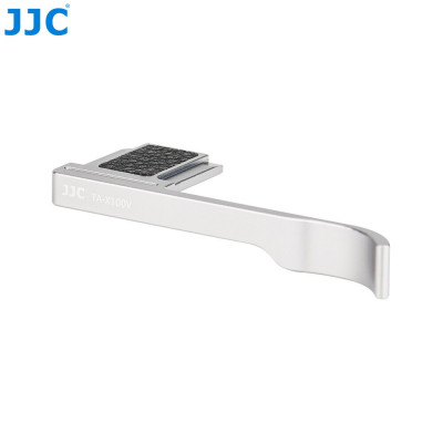 Thumb up grip per Fuji X100 Silver