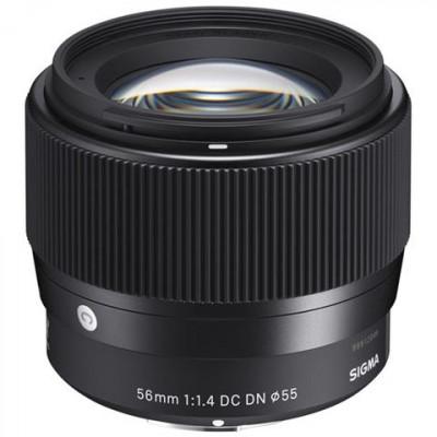 56mm-F/1.4 (C) AF DC DN,att. Canon EF-M X Mirrorless