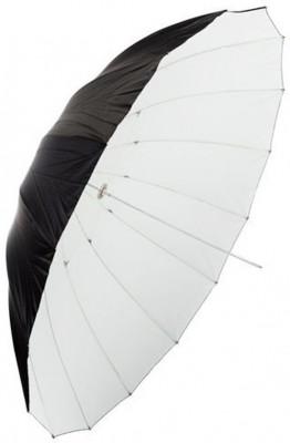 Ombrello UB-L1 – Bianco/Nero 185cm
