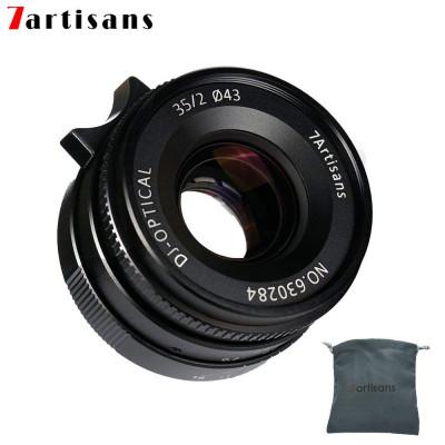 7ARTISANS 35mm f/2.0 x Leica M