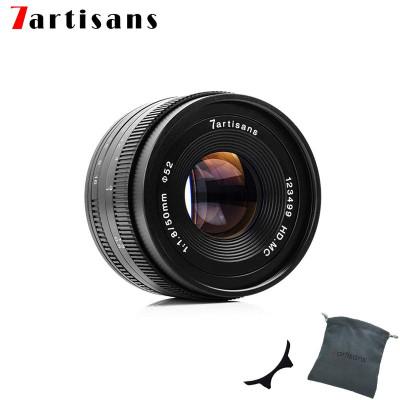 7ARTISANS 50mm f/1.8 x Canon EOS M