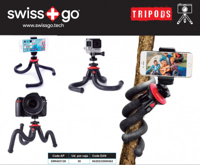 SWISS-GO TREPPIEDI FLESSIBILE ADVANCE-10