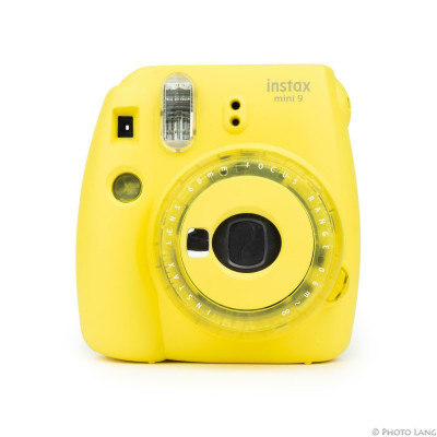 INSTAX MINI 9 CLEAR GIALLO