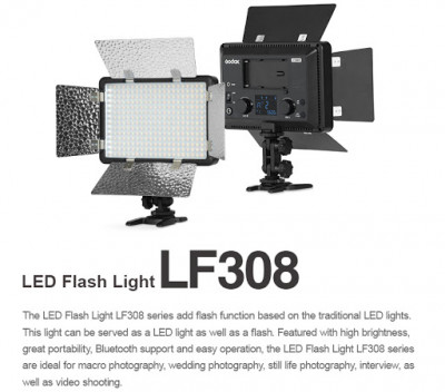 LF-308C-II ILLUMINATORE LED E FLASH TTL