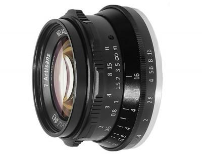 7ARTISANS 35mm f/1.2 x Fuji