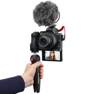 Z50 + NIKKOR Z DX 16-50 VR + Microfono + Rig + Treppiedi + SD 64GB Lexar Vlogger