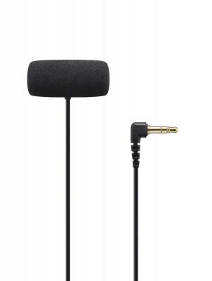 ECM-LV1 microfono lavalier stereo compatto